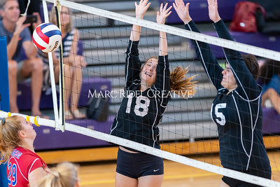 Broughton volleyball vs Sanderson. October 3, 2019. D4S_3557