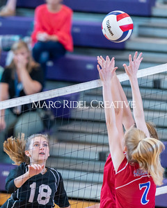 Broughton volleyball vs Sanderson. October 3, 2019. D4S_3391