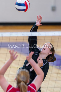 Broughton volleyball vs Sanderson. October 3, 2019. D4S_3467
