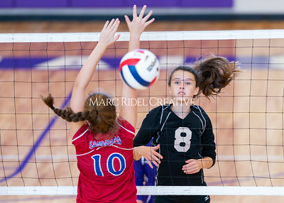 Broughton volleyball vs Sanderson. October 3, 2019. D4S_3588