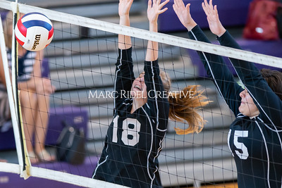 Broughton volleyball vs Sanderson. October 3, 2019. D4S_3556