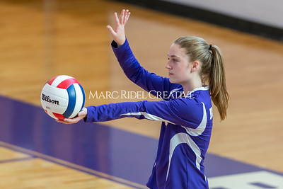 Broughton volleyball vs Sanderson. October 3, 2019. D4S_3481