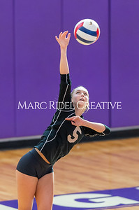 Broughton volleyball vs Sanderson. October 3, 2019. D4S_3387
