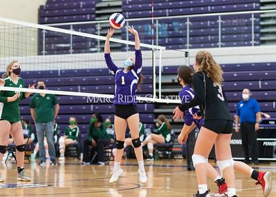 Broughton volleyballl vs Cardinal Gibbons. December 22, 2020