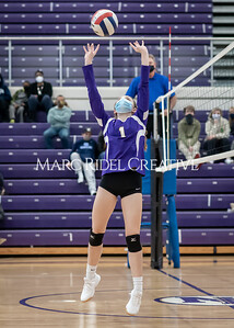 Broughton volleyballl vs Enloe. December 18, 2020