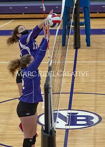 Broughton volleyballl vs Enloe. December 18, 2020