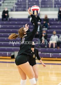 Broughton volleyball vs Millbrook. January 7, 2021