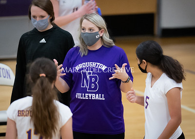 Broughton volleyball vs Sanderson. December 3, 2020