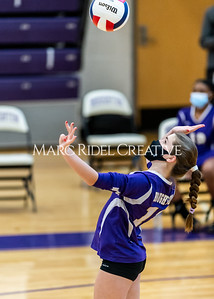 Broughton volleyball vs Southeast Raleigh. December 14, 2020