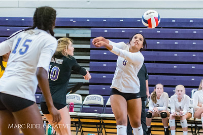 Broughton Volleyball vs Apex. August 29, 2017