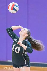 Broughton volleyball vs Enloe. October 12, 2017.