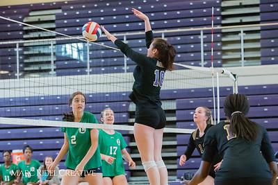 Broughton Varsity Volleyball vs. Leesville. 3-0. September 20, 2017.