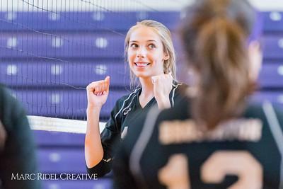 Broughton JV Volleyball vs. Millbrook. September 7, 2017.
