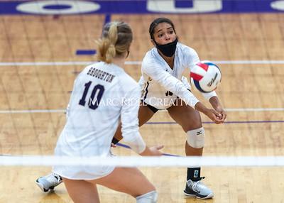Broughton volleyball vs Apex Friendship. September 1, 2021.