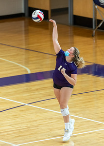 Broughton JV and varsity volleyball vs. Apex. August 17, 2021
