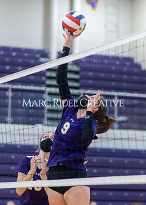 Broughton Lady Caps volleyball vs Athens Drive. October 12, 2021.