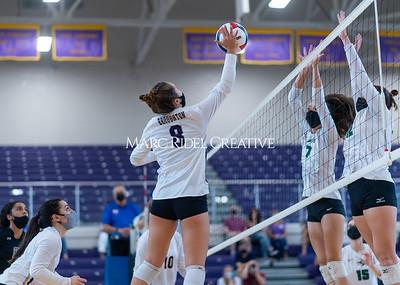 Broughton varsity volleyball b=vs Green Hope. September 144, 2021.