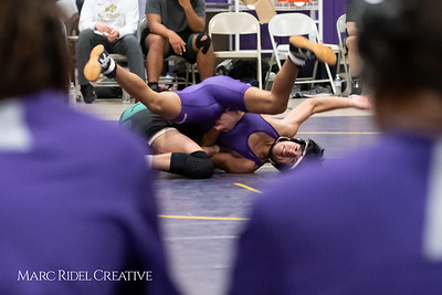 Broughton wrestling vs Cardinal Gibbons. January 9, 2019. MRC_1072
