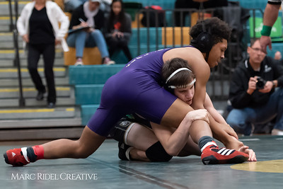 Broughton wrestling. Cap-7 Tournament at Enloe High School. January 26, 2019. 750_7158