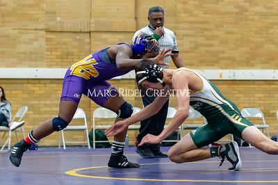 Broughton JV wrestling vs Cardinal Gibbons and Millbrook. December 9, 2019. D4S_3153