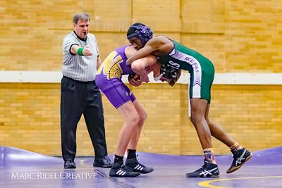 Broughton wrestling vs. Southeast Raleigh. December 13, 2017.
