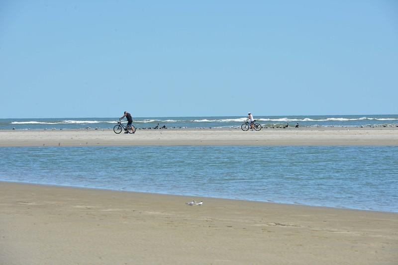 Bikers and Birds @ Seabrook Island, SC