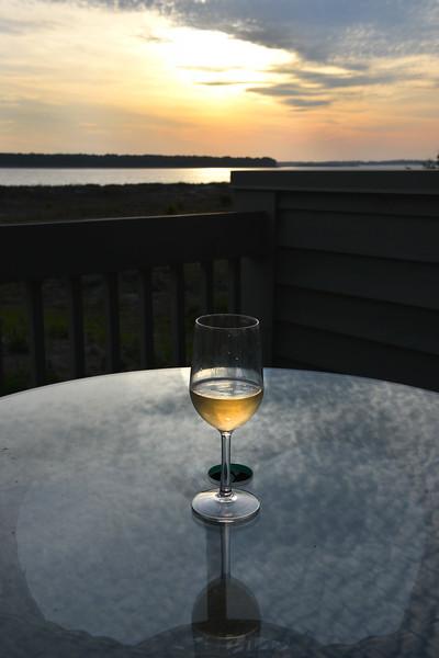Wine @ Sunset Seabrook Island, SC