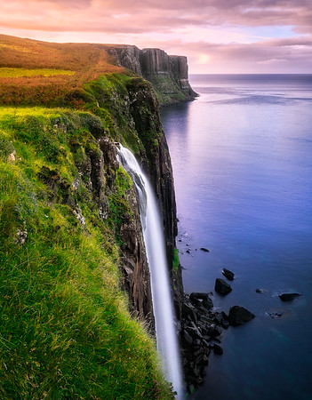 Mealt Falls and Kilt Rock – Isle of Skye, Scotland