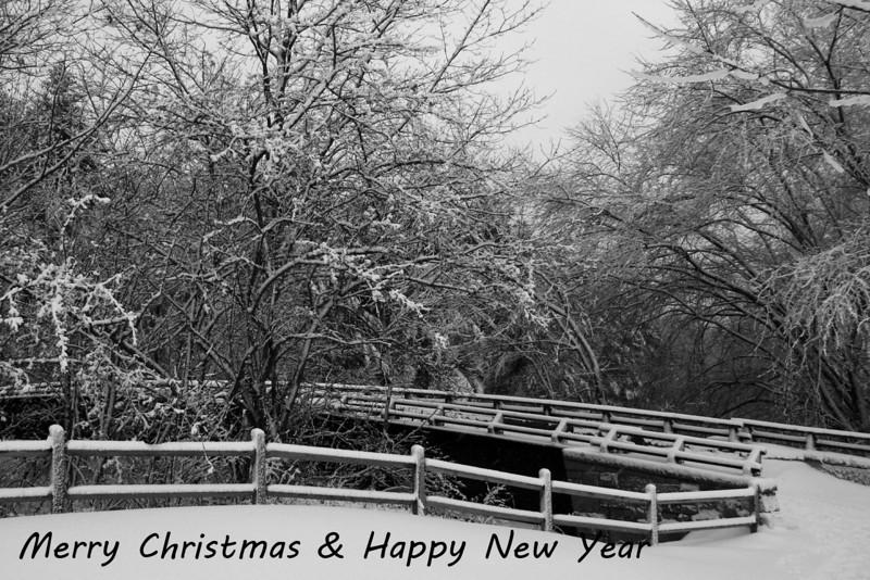 HO 30 Merry Christmas - Mines Falls