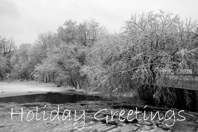 HO 33 Holiday Greetings - Winter Chill