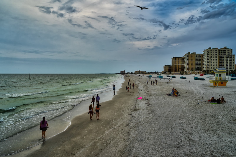 Sunset at Clearwater Beach (looking North)