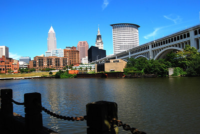 Downtown from Cuyahoga