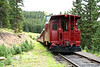 CO 8 Red Caboose, Leadville, CO