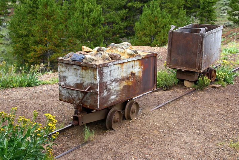 CO 7 Matchless Mine Ore, Leadville, CO