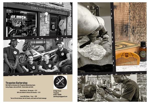 RJ Barbers; Thrapston Barbershop