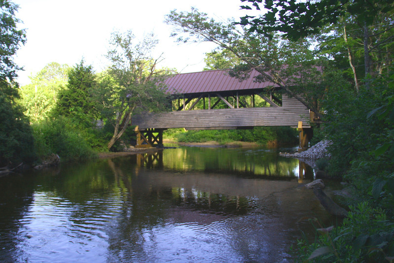 CB 43 S Bump Bridge, Campton NH - Side View