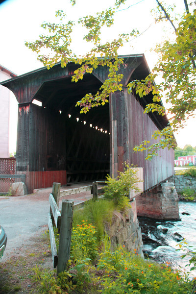 CB 10 FS Railroad Hopkinton NH- RR Bridge