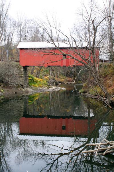 CB 103 Slaughter House Covered Bridge, Dog River, Northfield Falls, VT