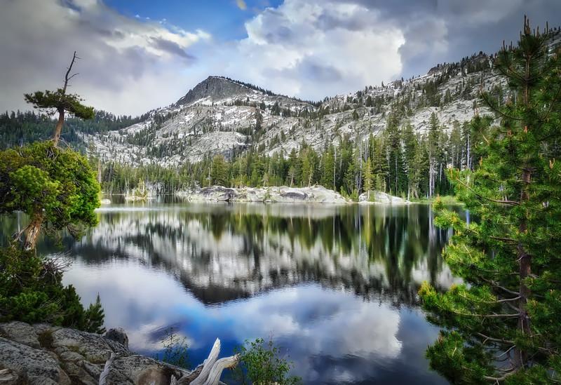 Crag Lake Reflections
