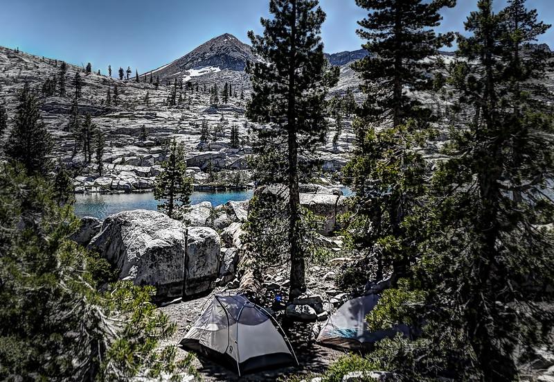 Camp at American Lake
