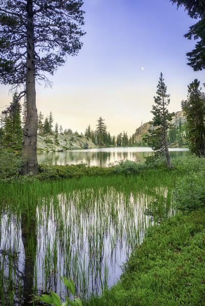 Alta Morris Lake at sunset