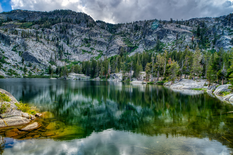 A late summer afternoon at Snow Lake