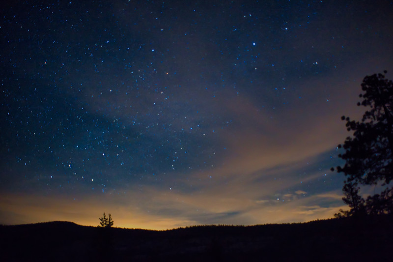 A stary night at Rubicon Reservoir