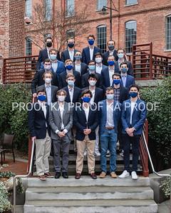 Duke KA seniors at American Tobacco Campus, Durham NC. February 28, 2021