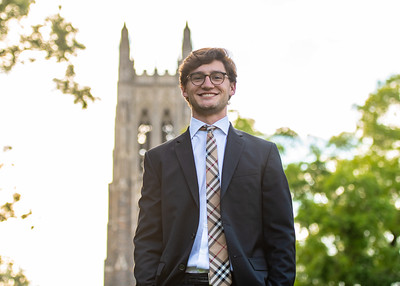 Quinten Sansoti portraits at Duke University. May 13, 2020.