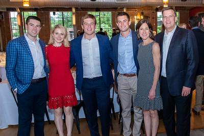 Duke KA Fraternity senior dinner at Rickhouse. May 11, 2019. D4S_3504