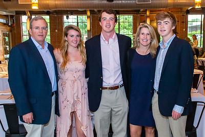 Duke KA Fraternity senior dinner at Rickhouse. May 11, 2019. D4S_3486