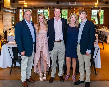 Duke KA Fraternity senior dinner at Rickhouse. May 11, 2019. D4S_3484