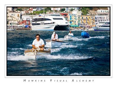 Capri_Grotto_Boats