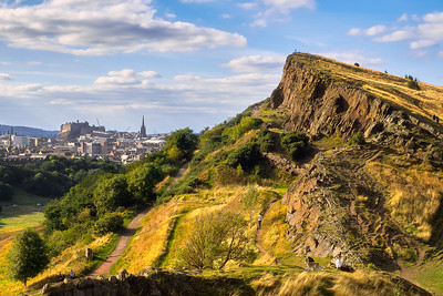 Arthur's Seat and the Salisbury Crags – Edinburgh, Scotland
